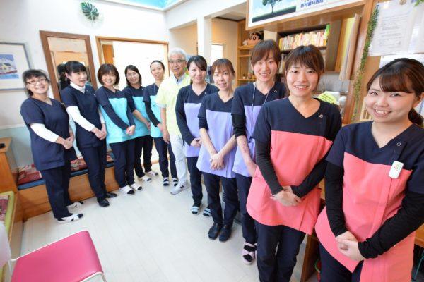西村歯科医院スタッフからのメッセージ